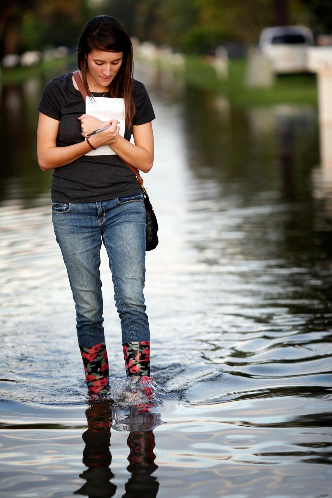 Reporting on rain